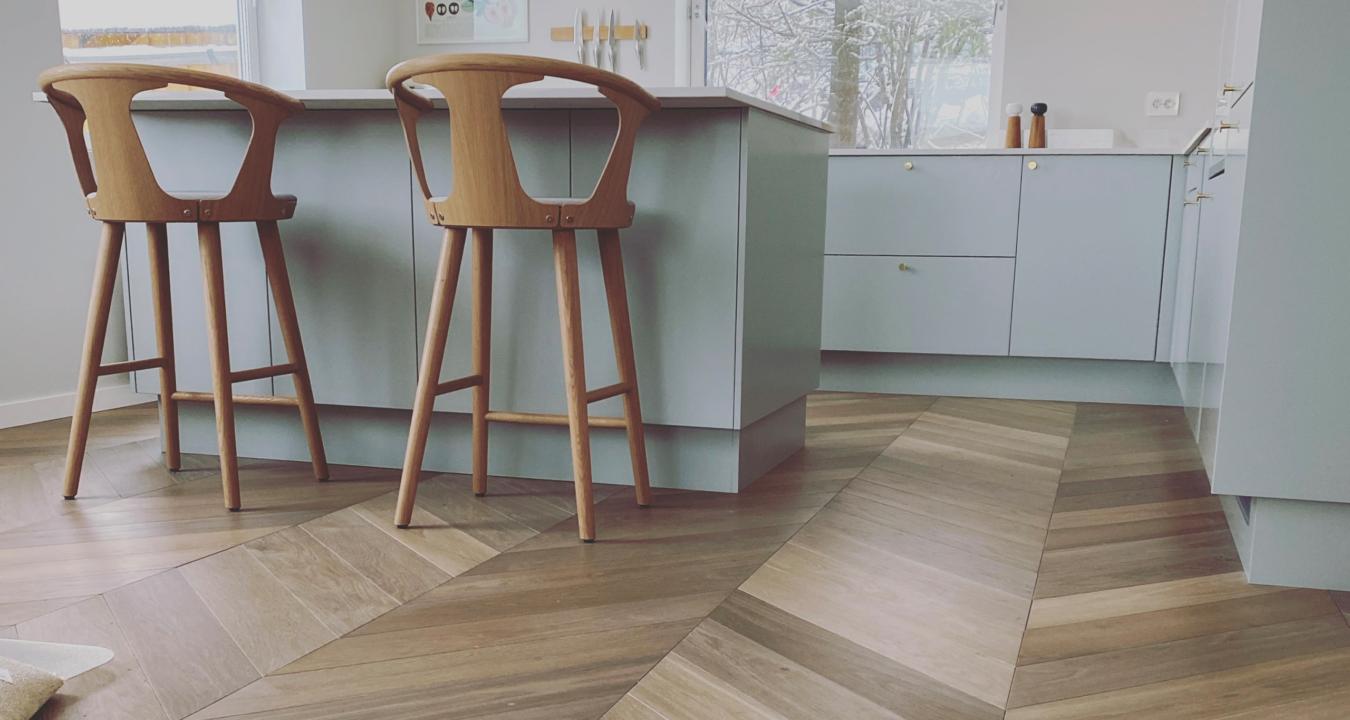 Vloer in de keuken van Your Floor
