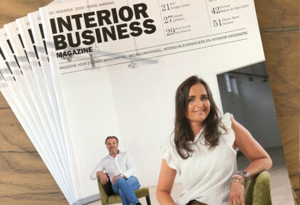 Thumbnail voor Interview in Interior Business