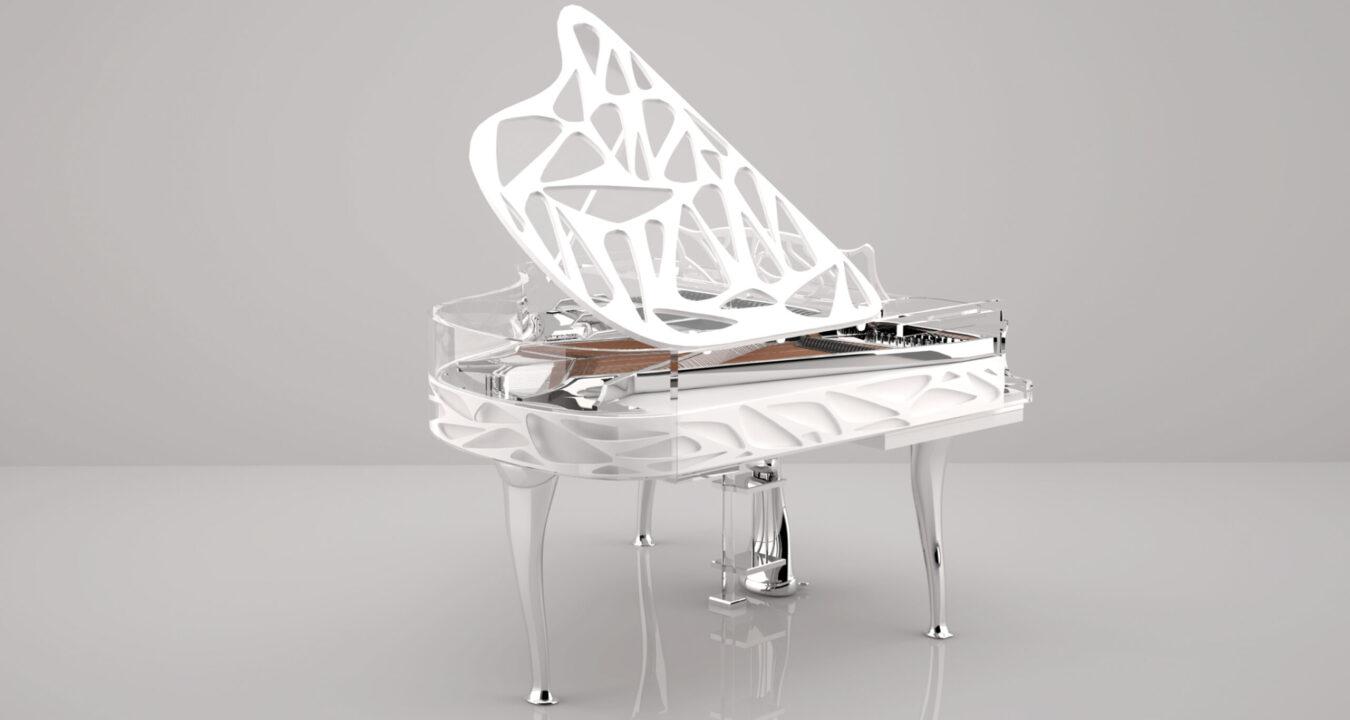 Pianovleugel van Pianometropool
