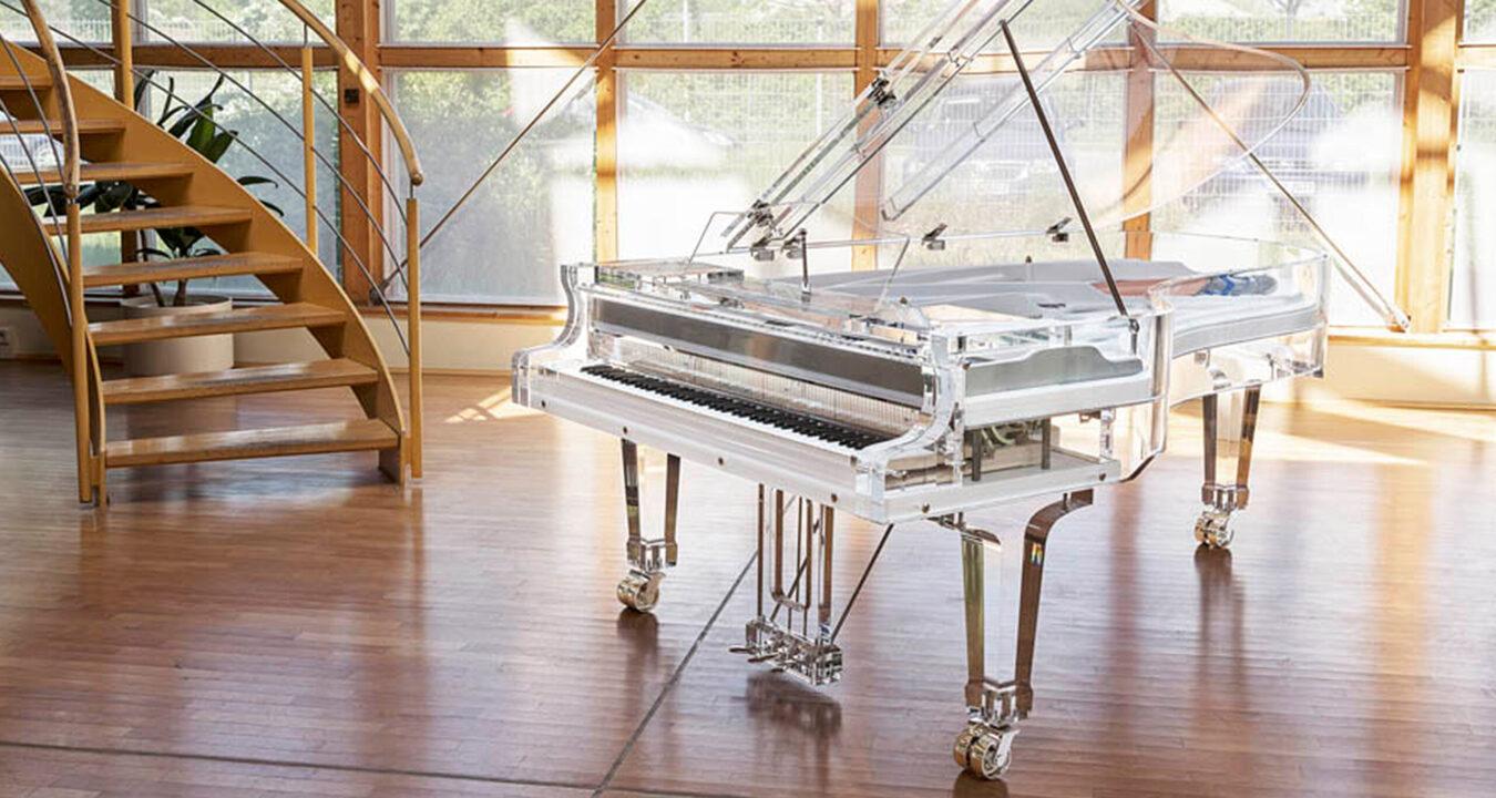 Pianovleugel van het Pianometropool